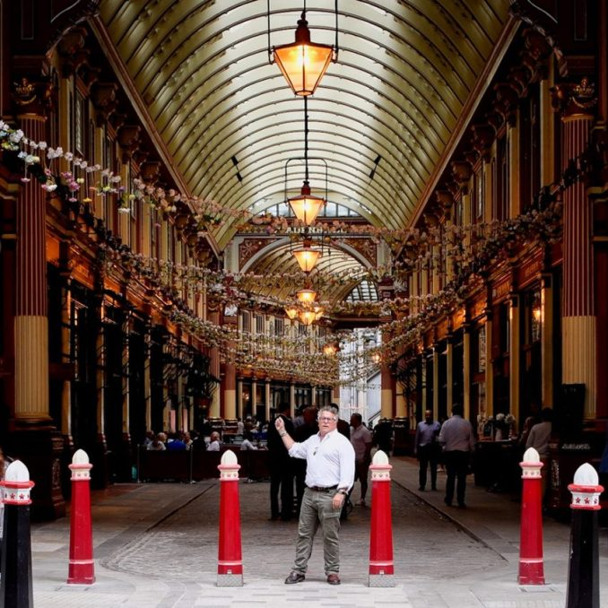 Leadenhall Market in London's financial district