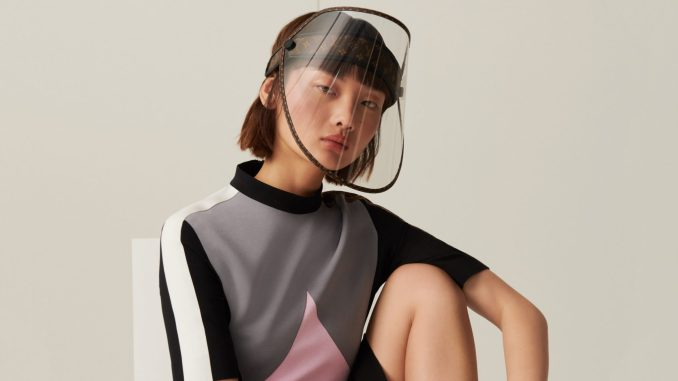 Louis Vuitton unveils face shield