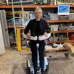 Suzanne Brewer Designs Segway Style Wheelchair To Allow Users To Stand