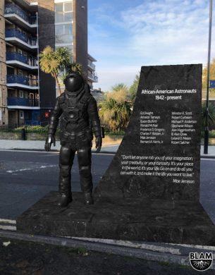 Un monument AR pour les astronautes noirs de l'application BLAM Black History
