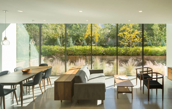 Open plan living space of Host House