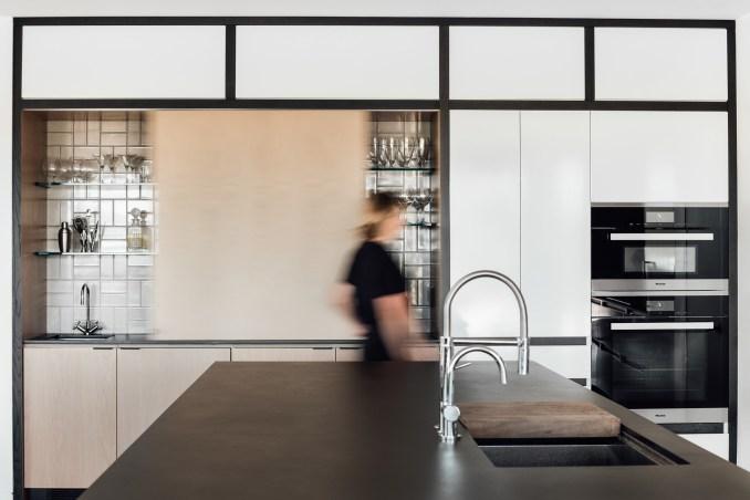 Kitchen of house by Klima Architecture