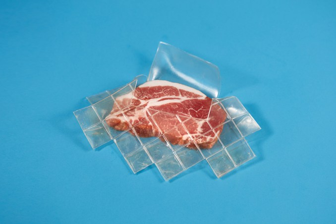 Biodegradable meat packaging