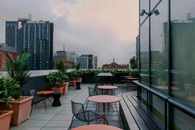 Rooftop of Urban HQ office