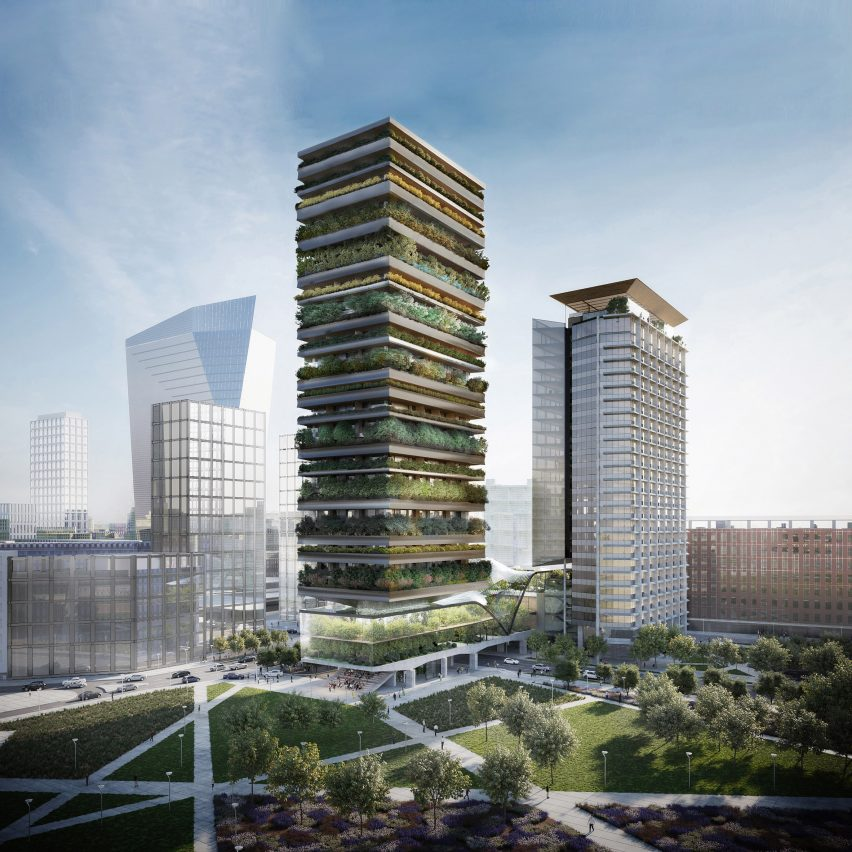 The Pirelli 39 development by Diller Scofidio + Renfro and Stefano Boeri Architetti