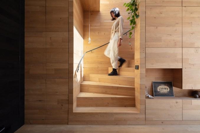 Interior oak furniture in Utreccht house
