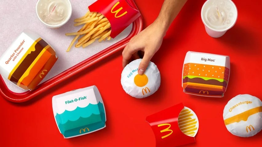 """McDonald's' packaging designed to reflect brand's """"playful point-of-view"""""""