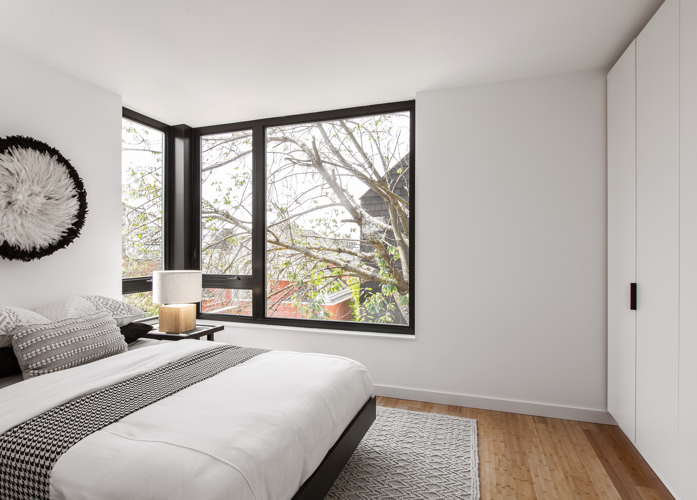 Bedroom of house in Seattle