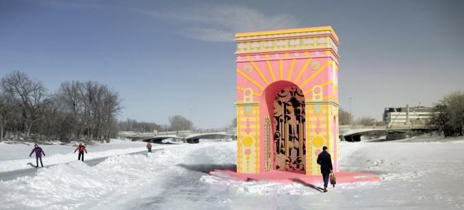 ARc de Blob for Winter Stations 2021