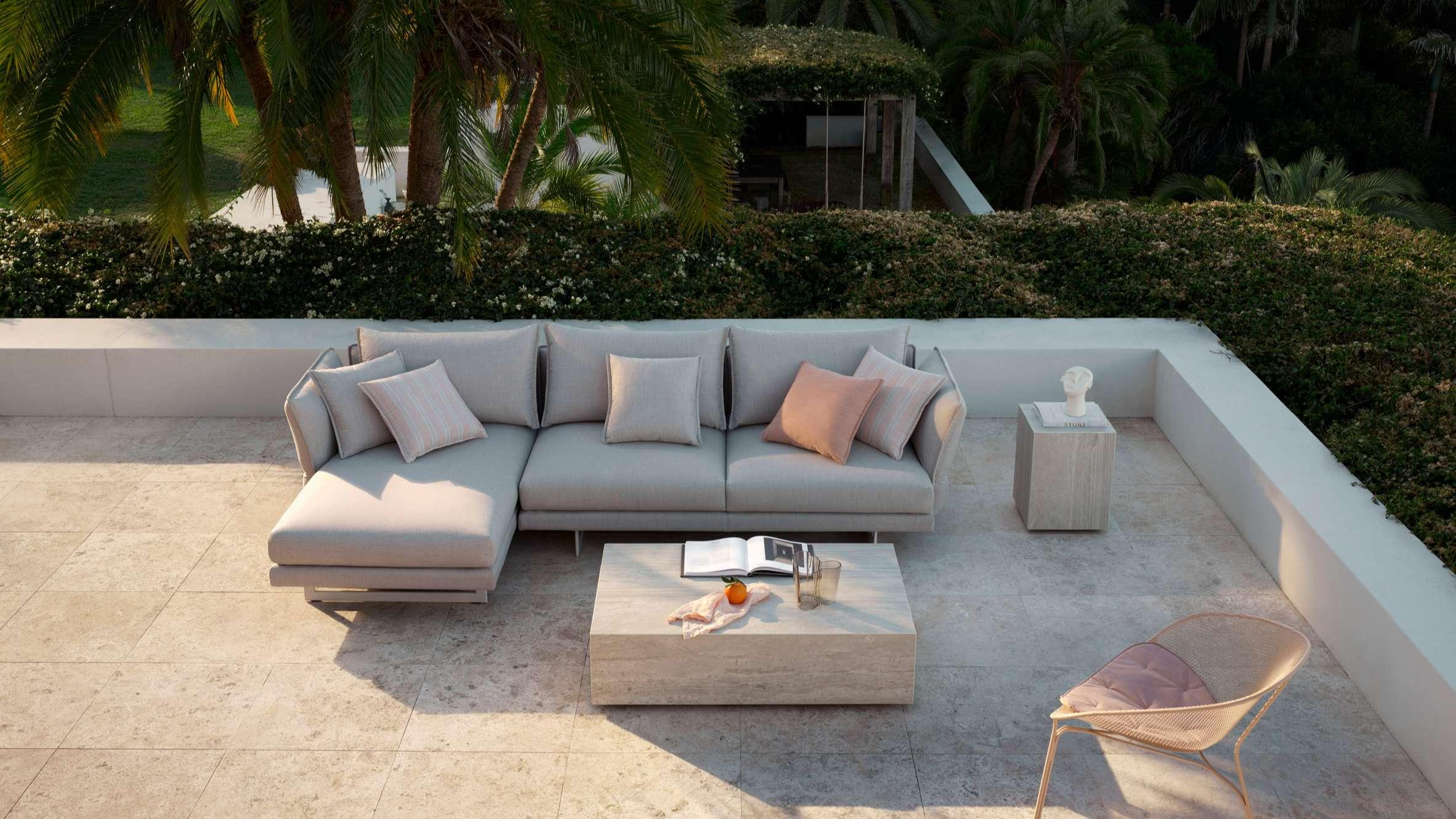 zaza outdoor sofa by charles wilson for