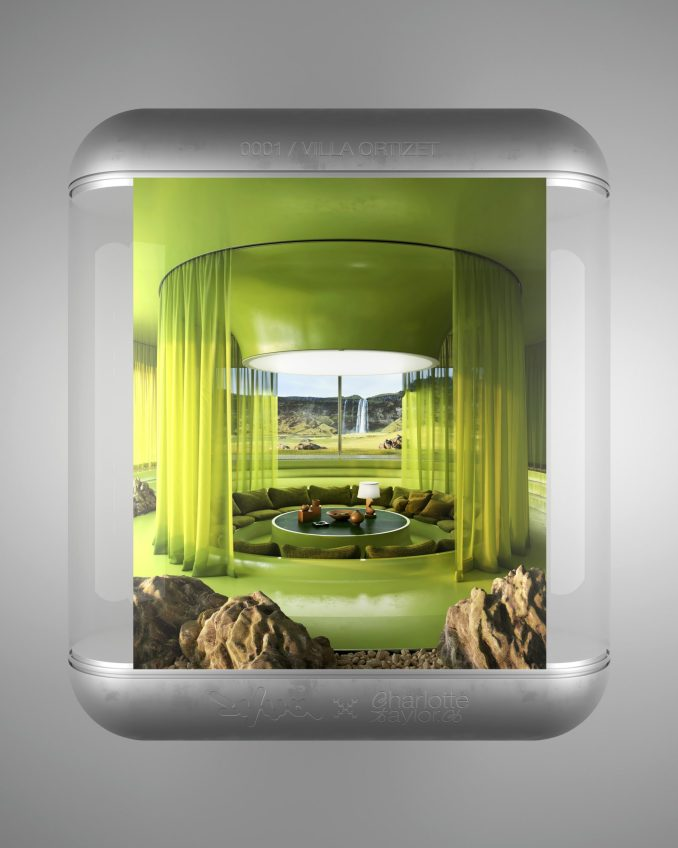 Fantasy architecture projects by Anthony Authié and Charlotte Taylor