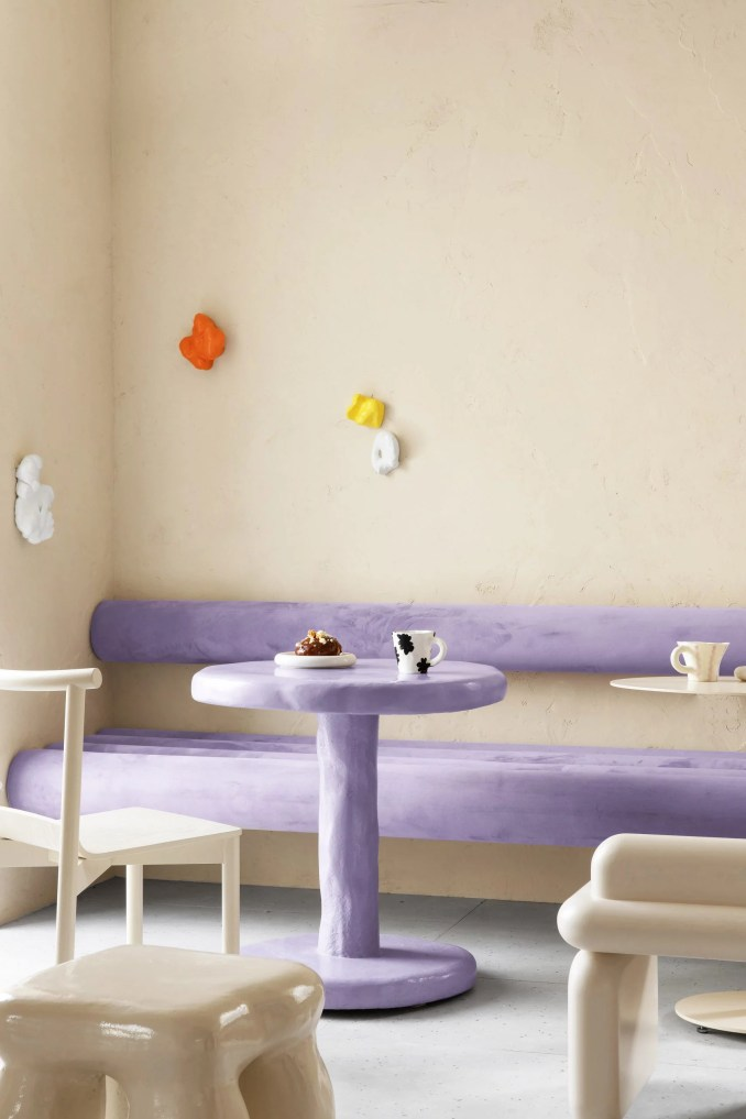 Cafe Krujok is a doughnut cafe in Russia