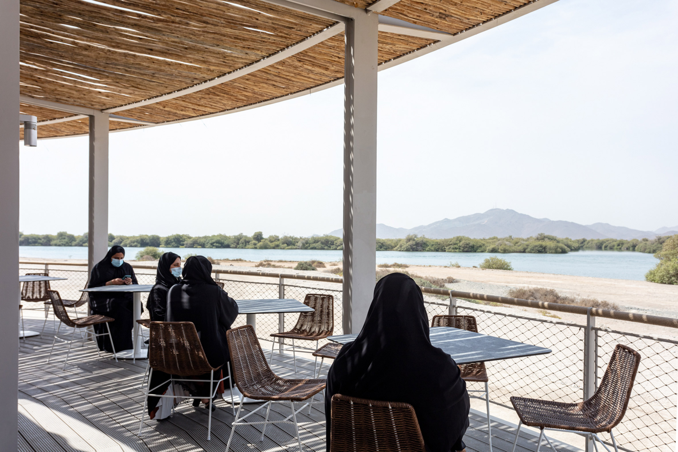 Cafe at Khor Kalba Turtle Wildlife Sanctuary