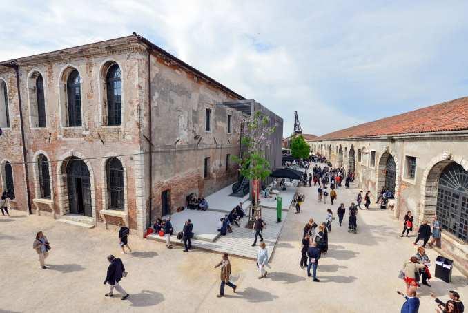 The Venice Arsenale
