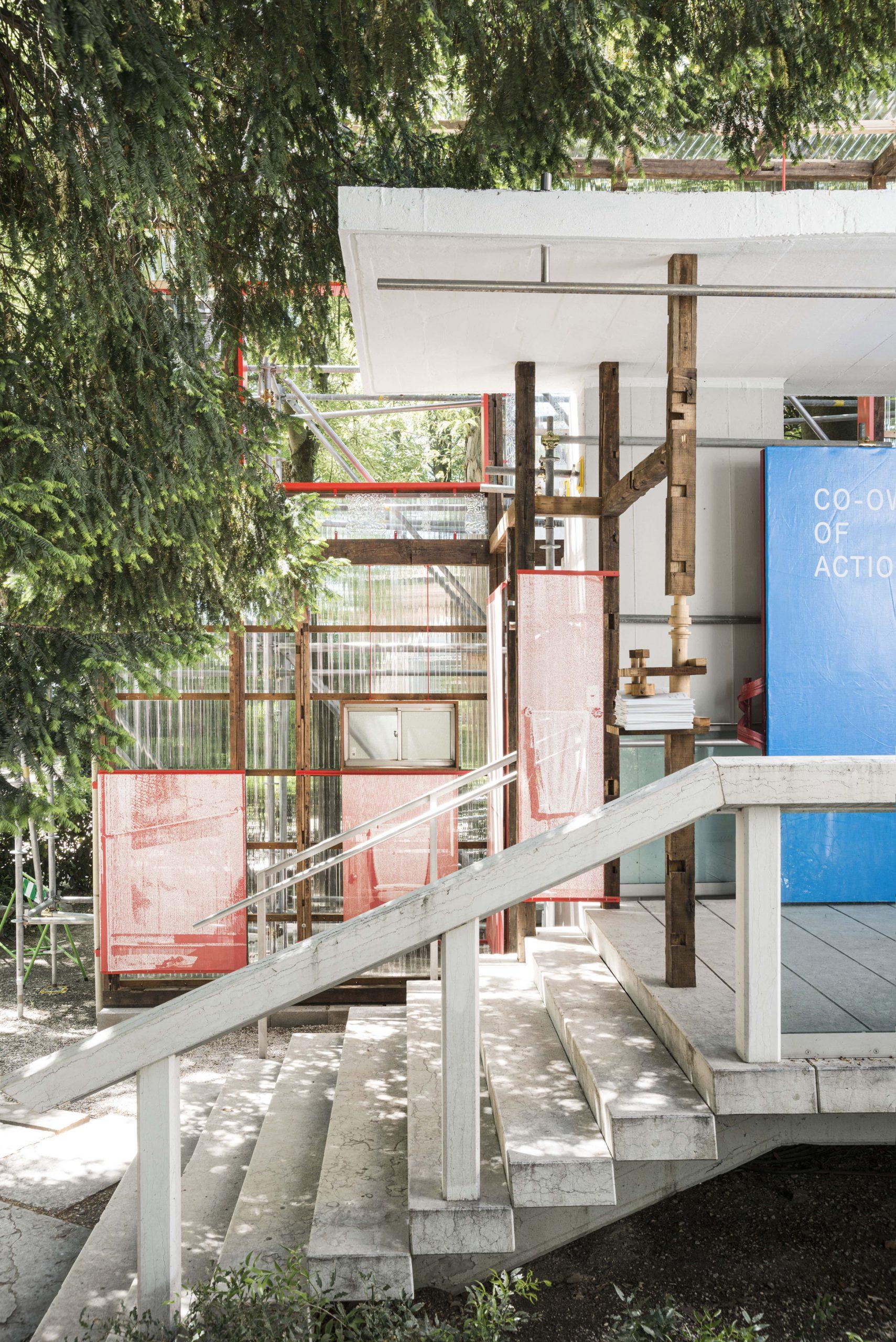 Entrance to Japan Pavilion at the Venice Architecture Biennale