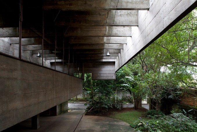 Brutalism played a key role in the architect's work