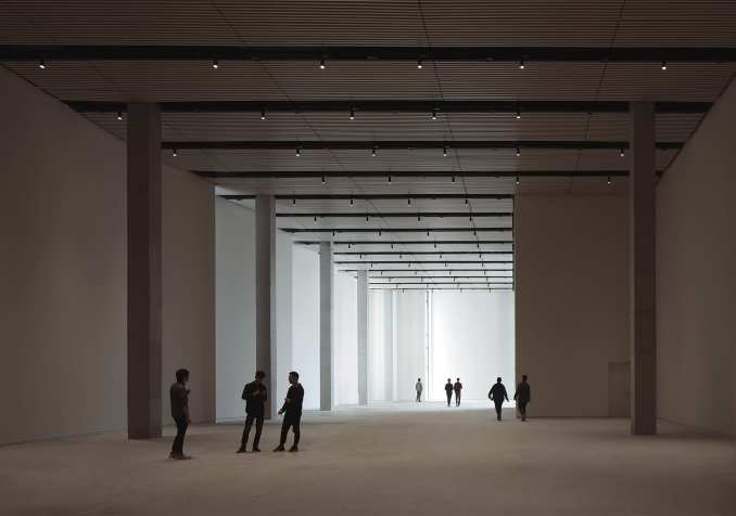 Gallery in Pingshan Art Museum by Vector Architects