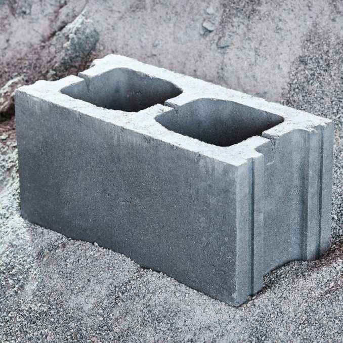 Concrete masonry unit by Carbicrete