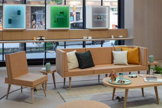 Seating in Google Store