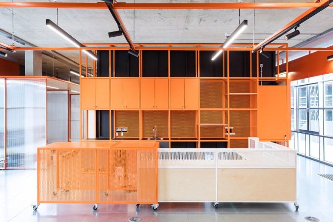 Colourful interior in London's Design District