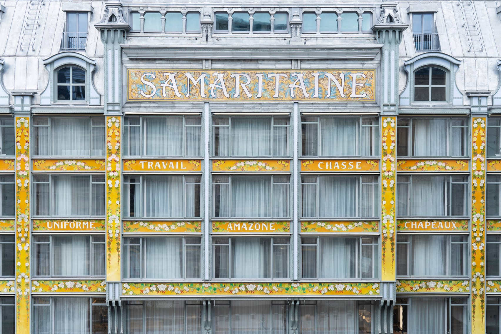 La Samaritaine art deco facade
