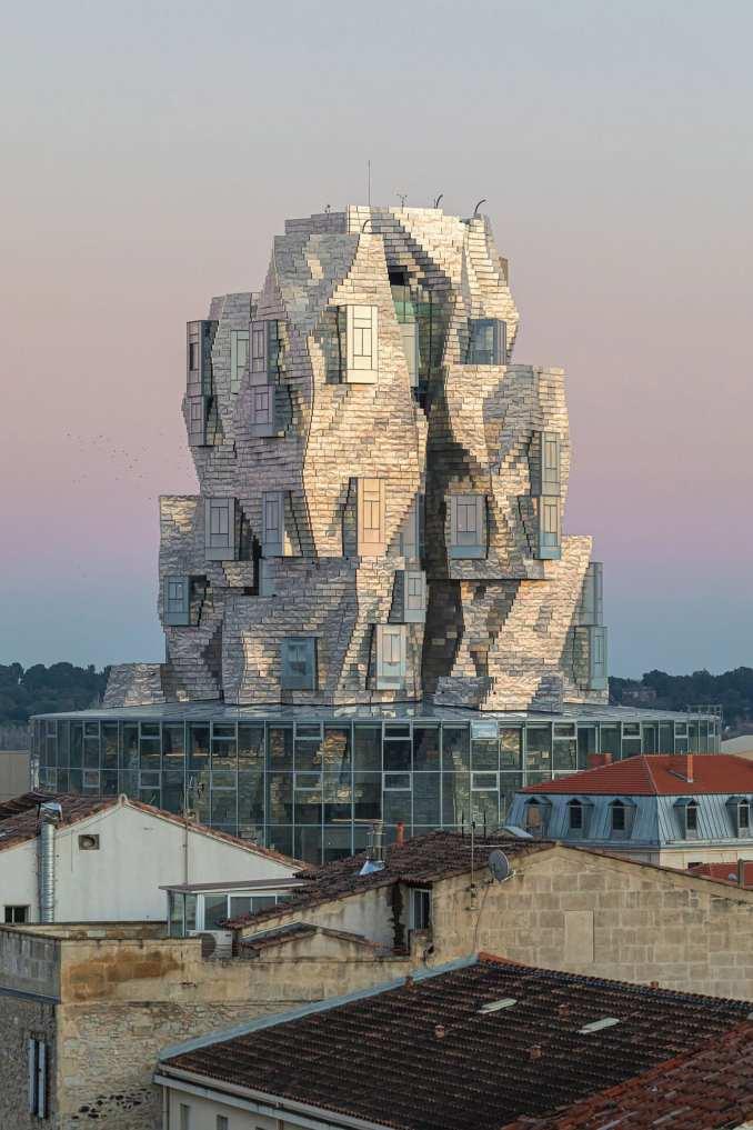 Luma Arles arts tower