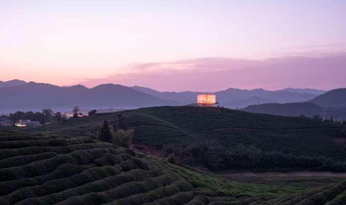 The Light installation at Art at Fuliang