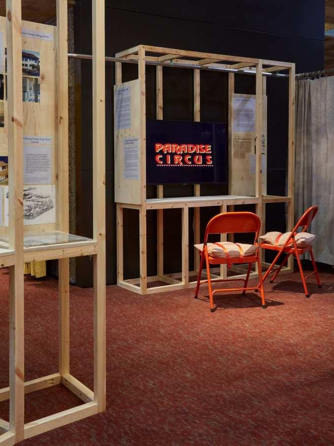 Paradise Circus video at the Matrix exhibition