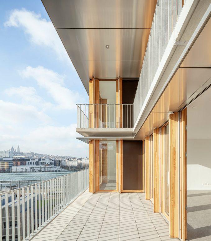 An apartment balcony