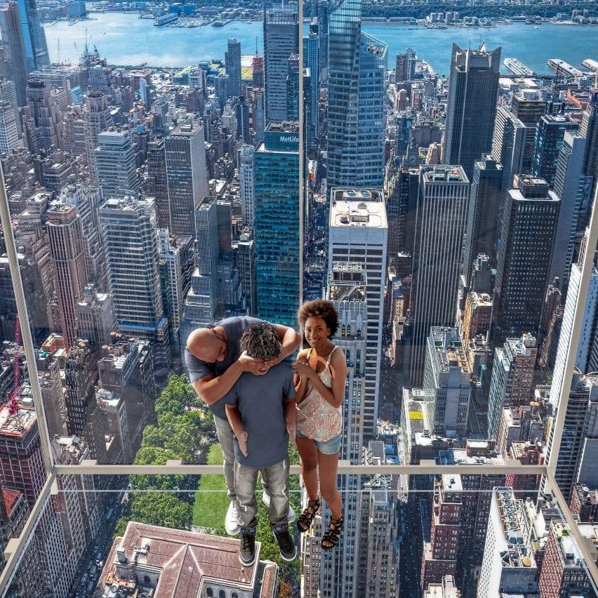Kohn Pedersen Fox adds glass elevator to supertall One Vanderbilt in New York