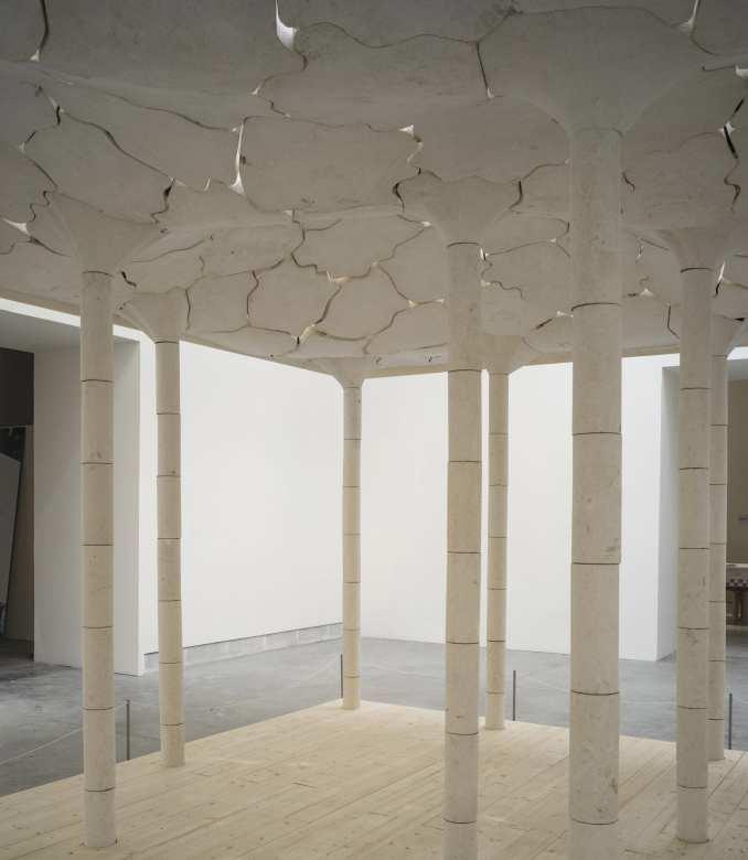 Stone installation by AAU Anastas