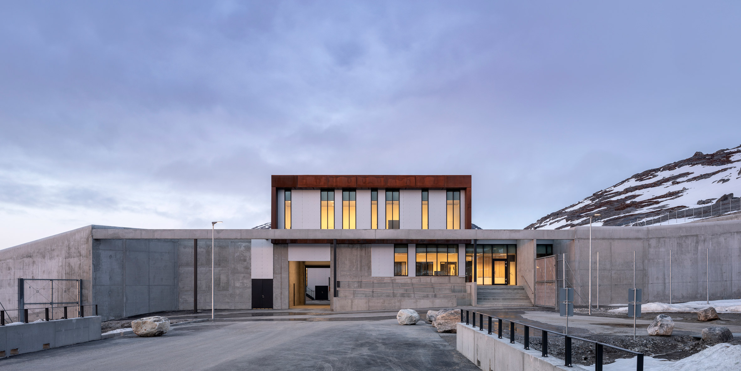 A concrete prison in Greenland