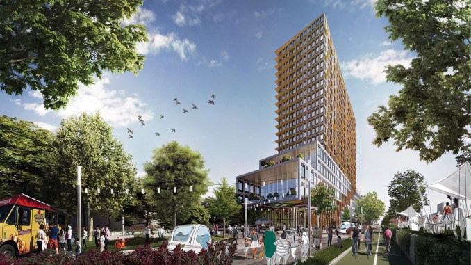 Montreal's winning entry for the Reinventing cities competition