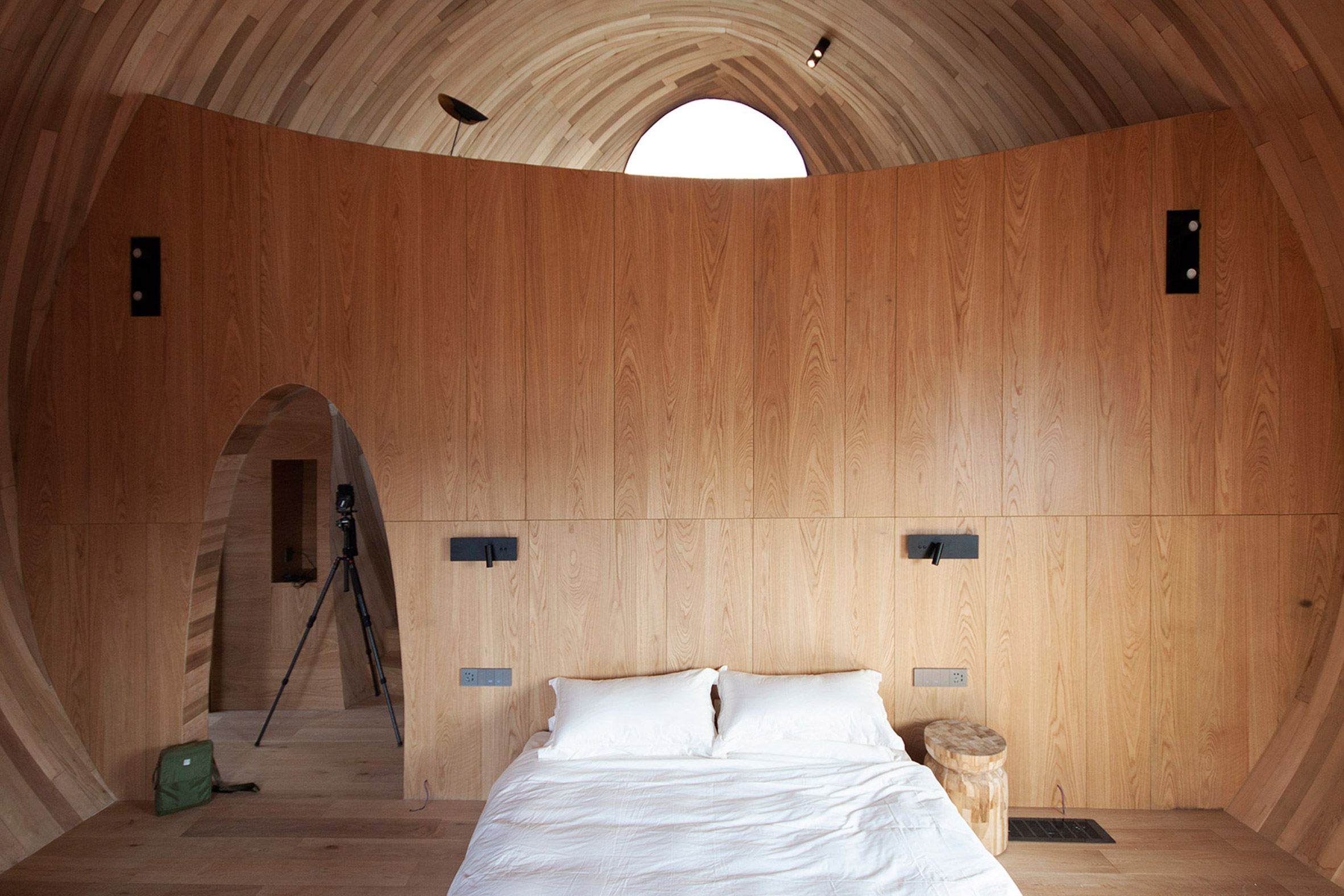 domed interior by ZJJZ Atelier