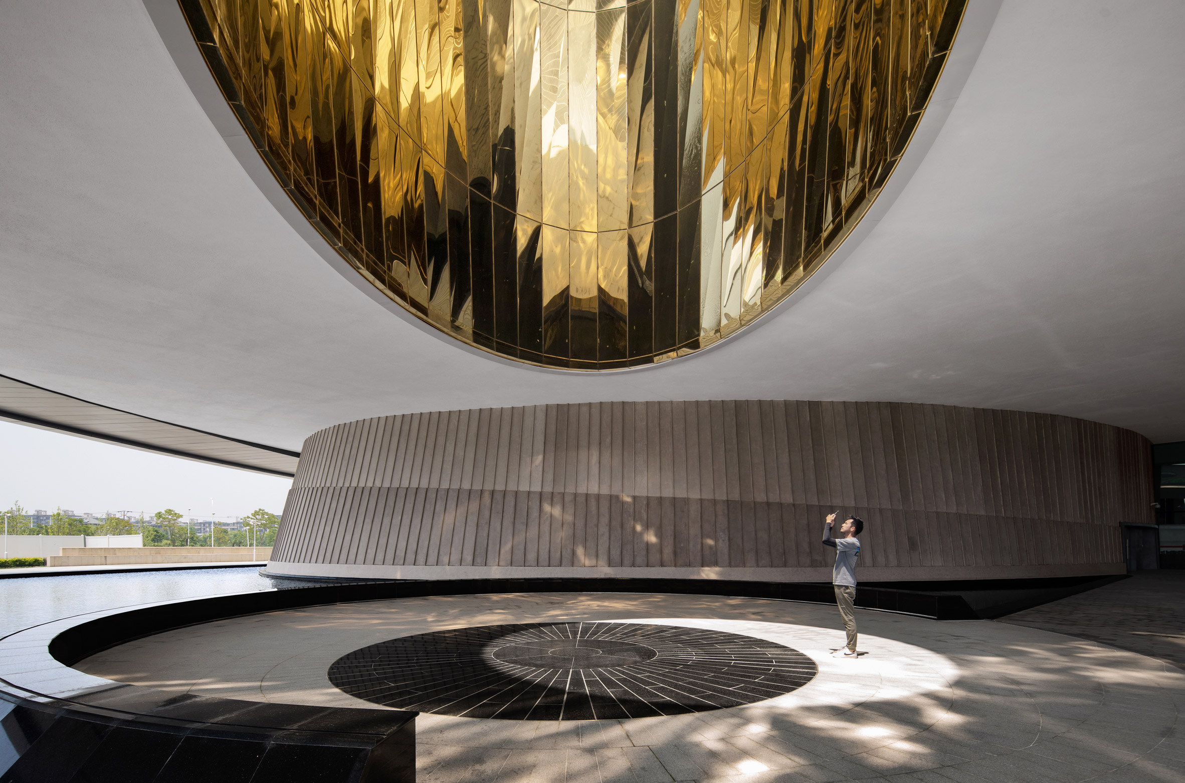 The Oculus at astronomy museum