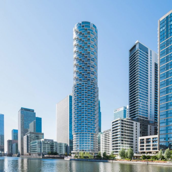One Park Drive in Canary Wharf by Herzog & de Meuron