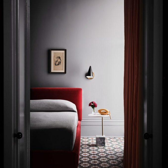 Guest room at Hotel Saint Vincent