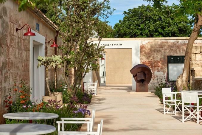 Hauser & Wirth Menorca has gardens designed by Piet Oudolf