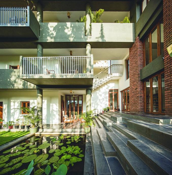 Residence Kanade house by Anupama Kundoo