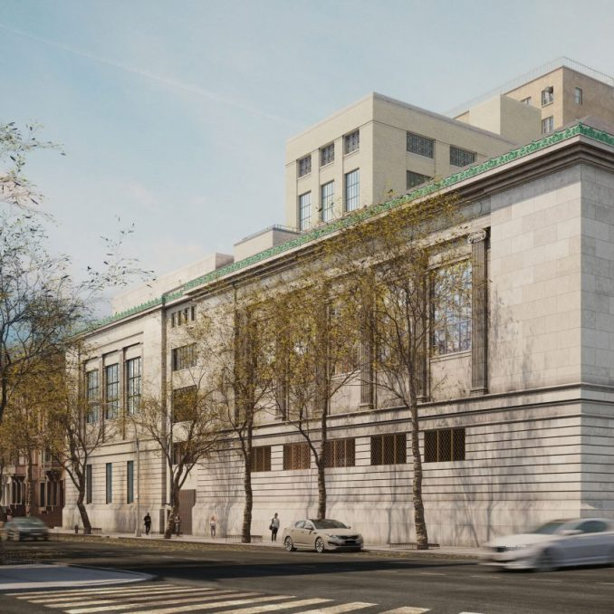 New-York Historical Society expansion from Central Park West