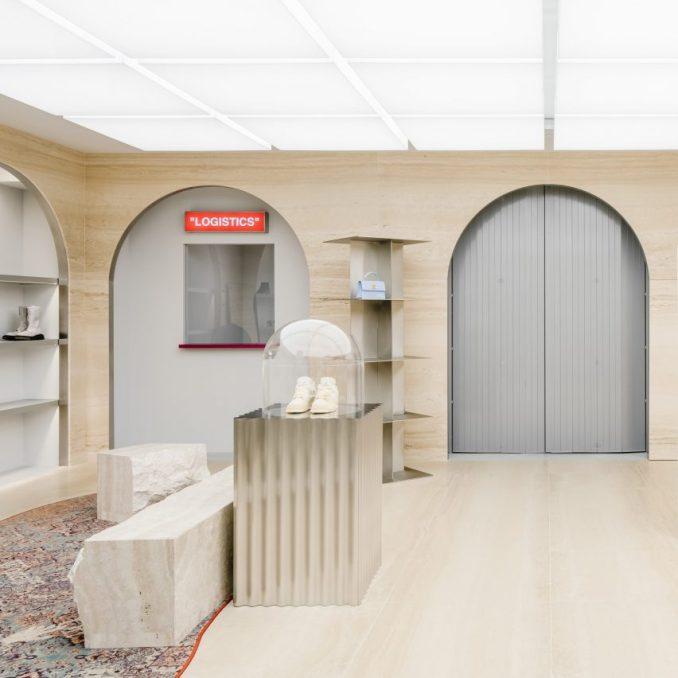 Off-White Paris store by AMO