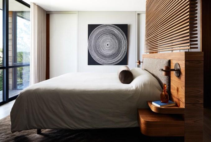 Bedroom of Sag Harbor 2 by KOS+A