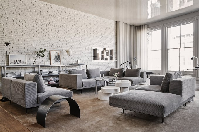 Living room with Vipp furniture