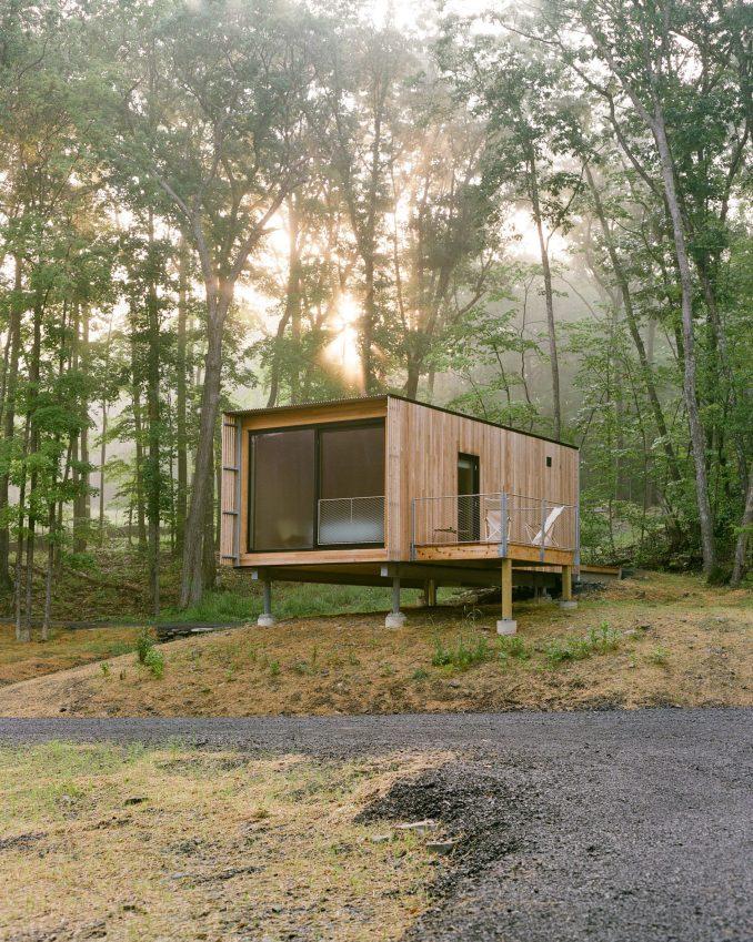 The resort encompasses 24 single cabins