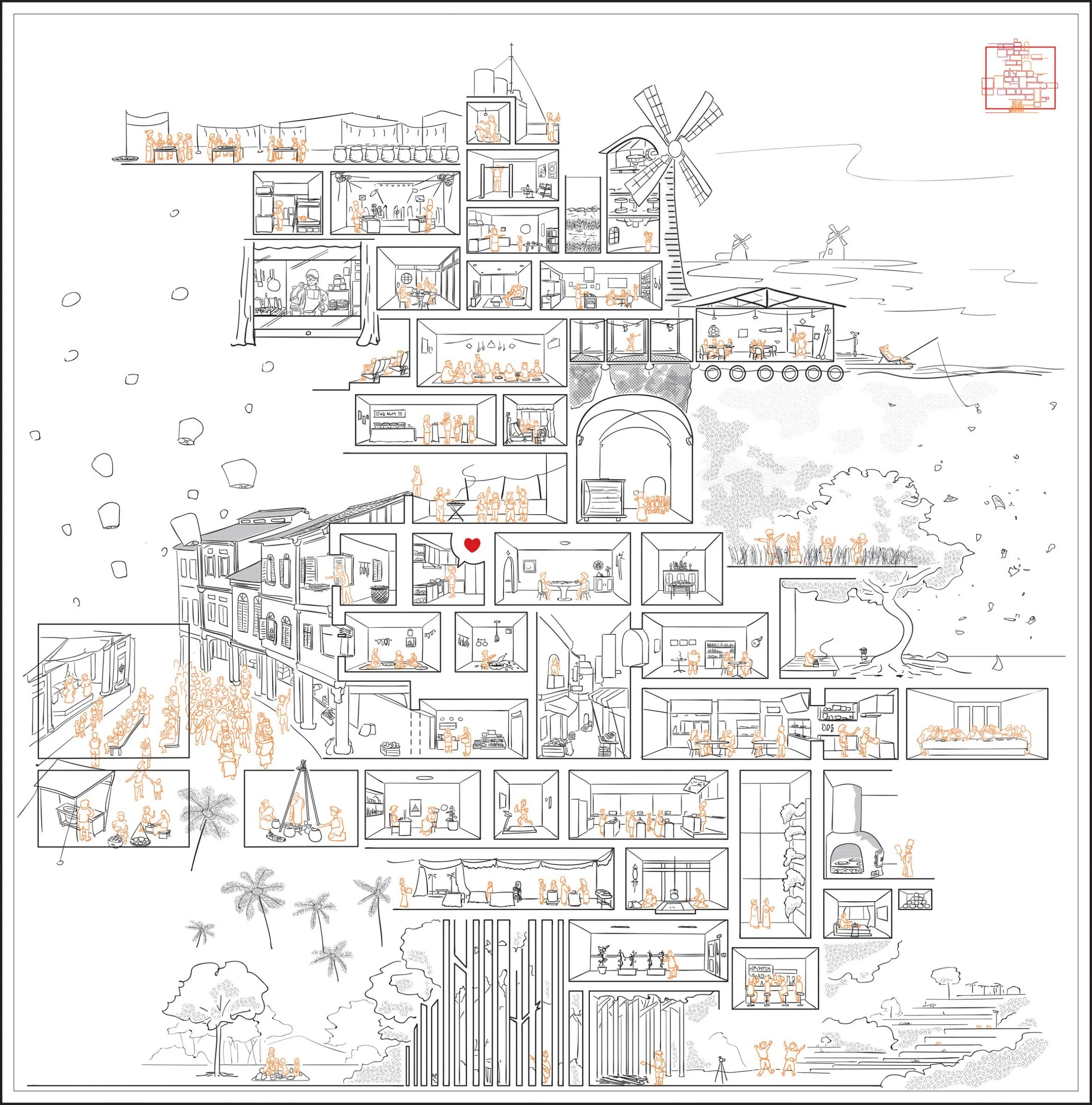 To Food, With Love: Architecture of an Intangible Culture