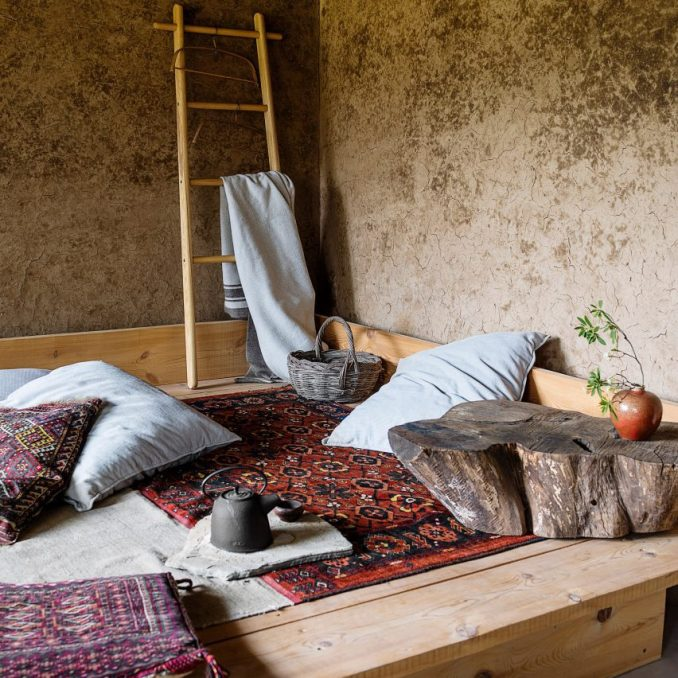 Studio Cottage, China, by Sun Min and Christian Taeubert from rustic interiors roundup