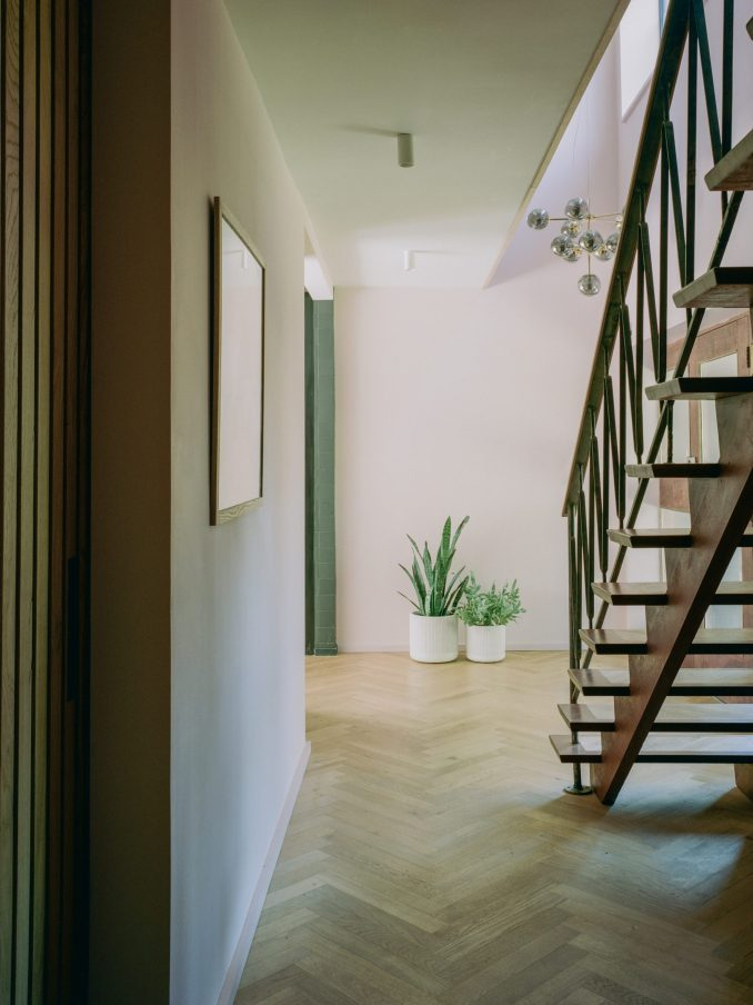 Hallway of Bawa House by Alter & Company