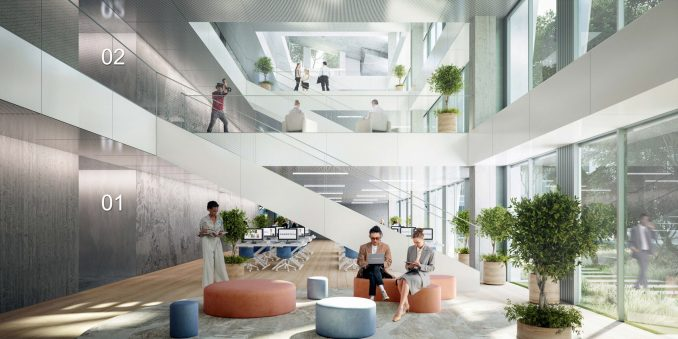 The interior of Fuse Valley has a bright and airy look