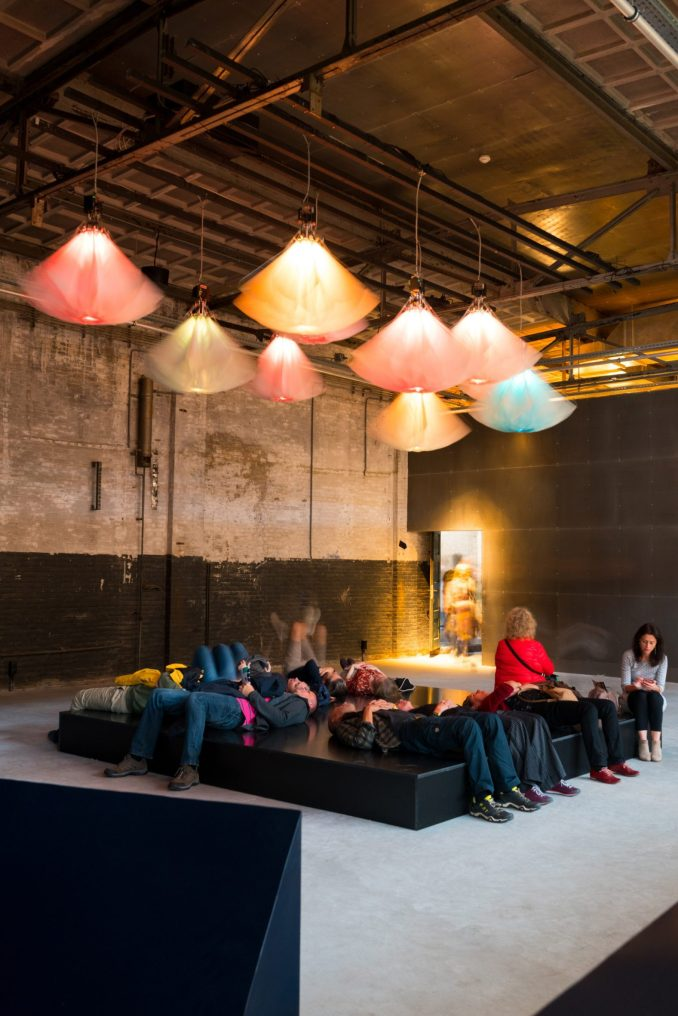 An installation at Dutch Design Week