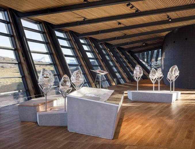 Exhibition in Ilulissat Icefjord Centre by Dorte Mandrup Arkitekter